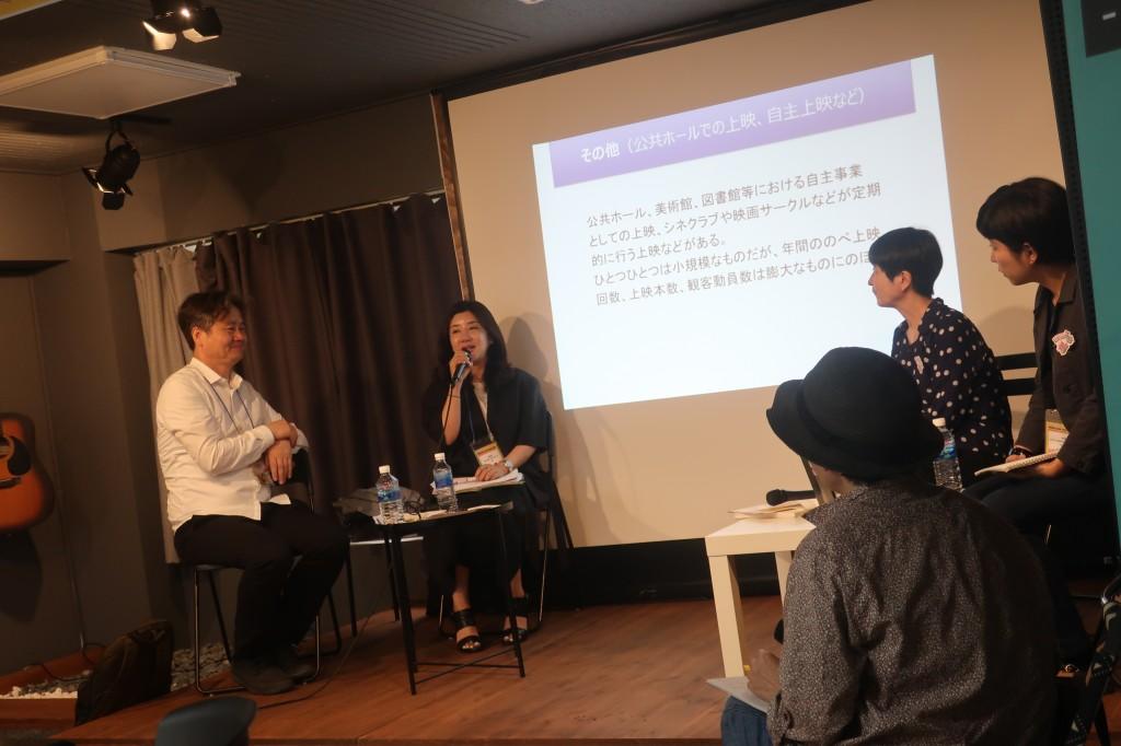 コミュニティシネマセンターの話題には ソウルのミニシアター2館も参加した